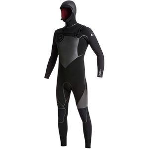 Quiksilver 5/4/3 Syncro Plus Chest-Zip LFS HD Wetsuit - Men's