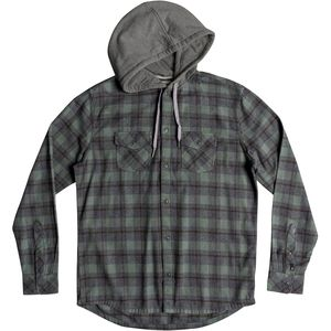 Quiksilver Snap Up Hooded Shirt - Men's