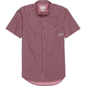 Quiksilver Bro Stripe Short-Sleeve Shirt - Men's