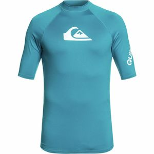 Quiksilver All Time Short-Sleeve Rashguard - Men's