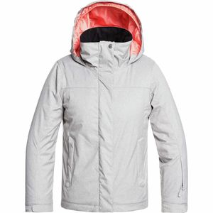 Jetty Solid Hooded Jacket - Girls'