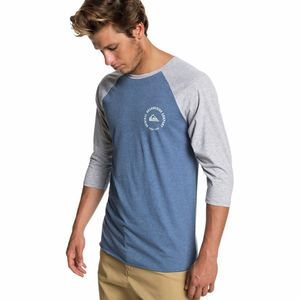 Quiksilver The Alluring St 3/4-Sleeve T-Shirt - Men's