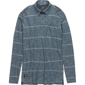 Quiksilver Waterman Home Team Long-Sleeve Polo - Men's