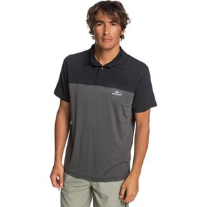 Quiksilver Waterman Paddle Runner Polo Shirt - Men's