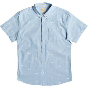 Quiksilver Waterman Spun Reel Short-Sleeve Shirt - Men's