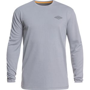 Quiksilver Waterman Gut Check Long-Sleeve Rashguards - Men's