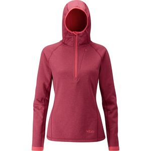 Rab Nucleus Fleece Hooded Jacket - Women's
