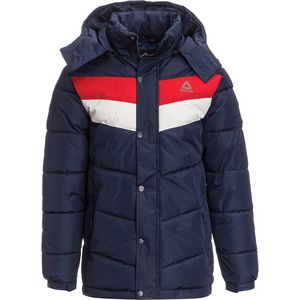 Reebok Chevron Bubble Jacket with Hood - Men's