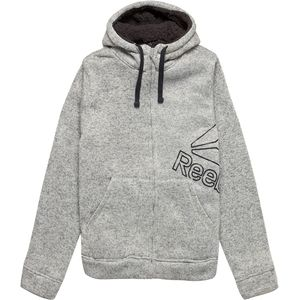 Reebok Full-Zip Hoodie with Sherpa Lining - Men's