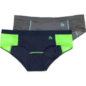 RBX Micro Mesh Sport Brief - 2-Pack - Women's