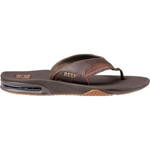 Reef Leather Fanning Flip Flop - Men's