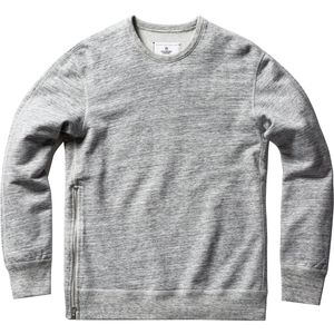 Reigning Champ Side-Zip Crewneck Sweatshirt - Men's
