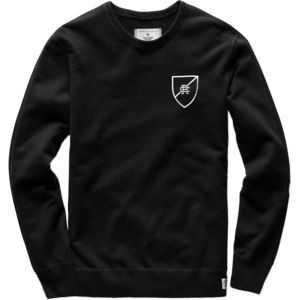 Reigning Champ Shield Logo Lightweight Terry Crewneck - Men's