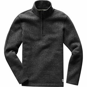 Reigning Champ Half Zip Fleece Pullover - Men's