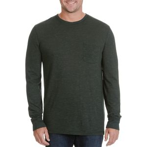 Rainforest Marled Long-Sleeve Pocket T-Shirt - Men's