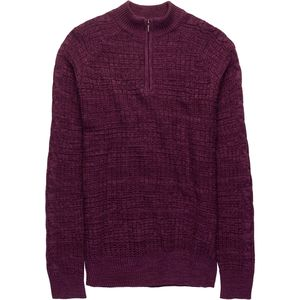 Rainforest Marled 3/4-Zip Neck Sweater - Men's