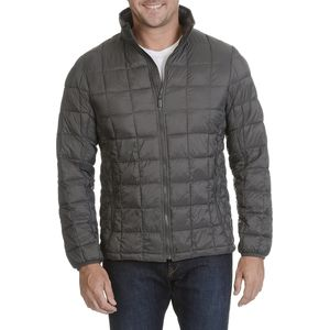 Rainforest Quilted Stand Up Collar Down Jacket - Men's