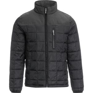 Rainforest Huntsville Mixed Media Quilted Jacket - Men's