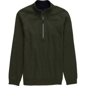 Rainforest Reversible Zip Pull Over - Men's