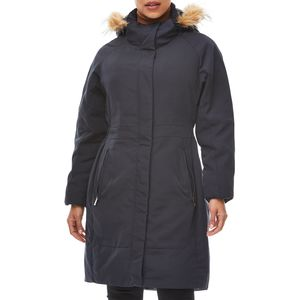 Rainforest Parka With Faux Fur Hood - Women's