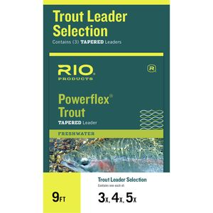 RIO Powerflex Trout Leader Selection
