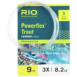 RIO Powerflex Trout Leader - 3 Pack