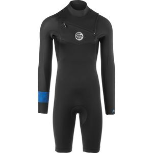 Rip Curl AggroLite 2mm Chest-Zip Long-Sleeve Wetsuit - Men's