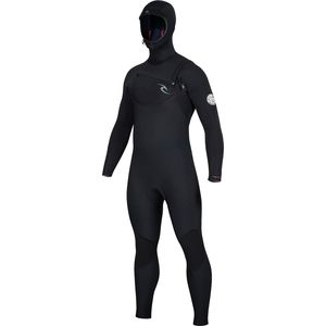Rip Curl Dawn Patrol 5/4 Hooded Chest-Zip Wetsuit - Men's