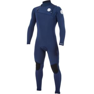 Rip Curl Aggrolite 3/2 GB Chest-Zip Full Wetsuit - Men's