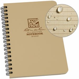Rite in the Rain Side-Spiral Notebook - 4.6in x 7in