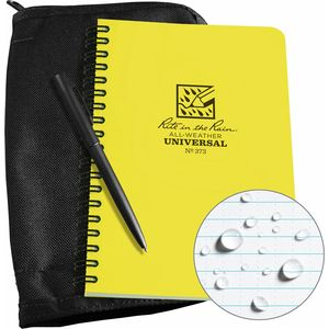 Rite in the Rain Side-Spiral Notebook Kit - 4.6in x 7in