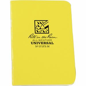 Rite in the Rain Mini-Stapled Notebook - 3.25in x 4.6in - 3-Pack