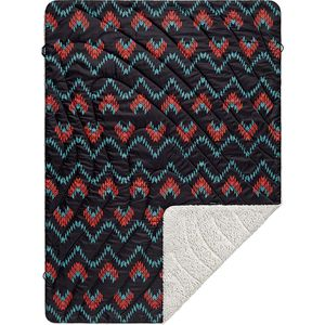 Rumpl The Sherpa Fleece Horizons Print Throw Blanket