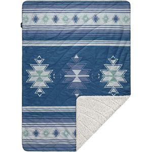 Rumpl The Midweight Sherpa Horizons Print Throw Blanket