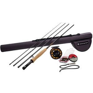 Redington Topo 4-Piece Rod and Reel Combo