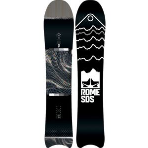 Rome Pow Division Moon Tail Snowboard - Men's