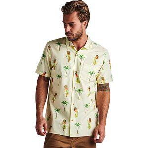Roark Revival Panji Hula Button-Down Short-Sleeve Shirt - Mens
