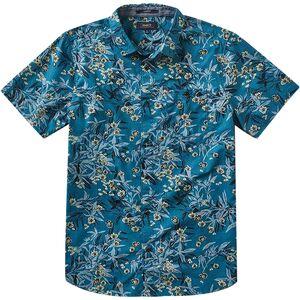 Roark Revival Java Scent Button-Down Short-Sleeve Shirt - Mens