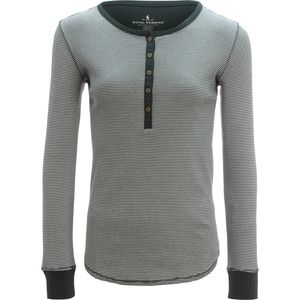 Royal Robbins Kick Back Striped Henley Shirt - Women's