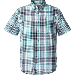 Royal Robbins Mid-Coast Seersucker Plaid Shirt - Men's