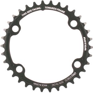 Rotor Round Road Spider Mount Chainring