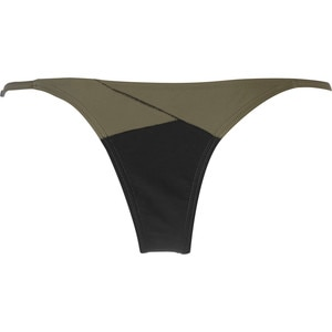 RVCA Spliced & Diced Skimpy Bikini Bottom - Women's