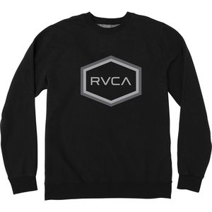 RVCA Double Hex RVCA Crew Sweatshirt - Men's