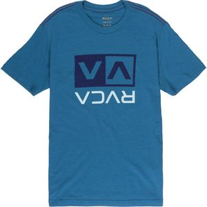 RVCA Two Color Flipped Box T-Shirt - Boys'