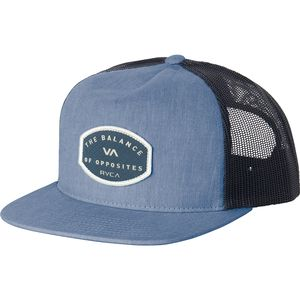 RVCA Balance Patch Trucker Hat