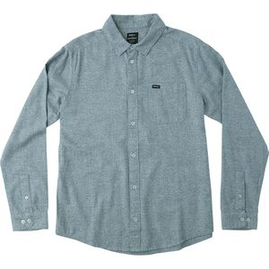 RVCA Curren Static Long-Sleeve Button-Down Shirt - Men's
