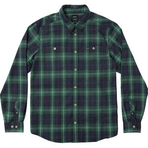 RVCA Bone Long-Sleeve Flannel Shirt - Men's