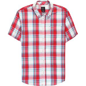 RVCA Stanek Plaid Short-Sleeve Shirt - Men's