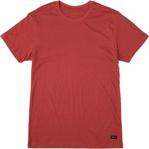 RVCA Label Vintage Wash T-shirt- Men's