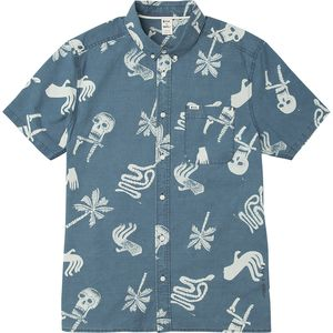 RVCA Batik Block Button-Up - Men's
